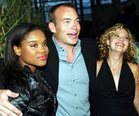 Lena Cardwell, Jonathan Breck and Nicki Aycox at the premiere of