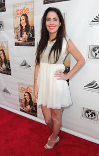 Grace Johnston at the California premiere of