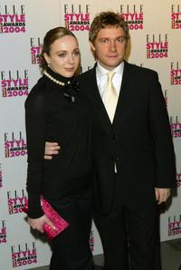 Martin Freeman at the Elle Style Awards 2004.
