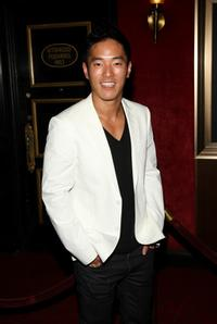 Leonardo Nam at the world premiere of