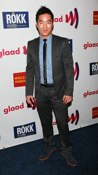 Leonardo Nam at the 22nd annual GLAAD Media Awards in California.