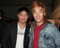 Brian Tee and Leonardo Nam at the ImaginAsian TV Party during the AFI Fest.