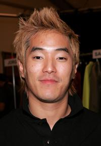 Leonardo Nam at the Lacoste Fall 2006 during the Olympus Fashion week.