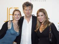 Sara Foster, David Foster, Alicia Jacobs at the grand opening of the