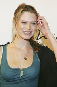 Sara Foster at the grand opening of