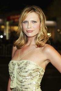 Sara Foster at the Los Angeles premiere of
