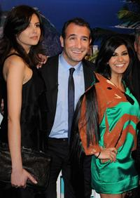 Louise Monot, Jean Dujardin and Reem Kherici at the premiere of