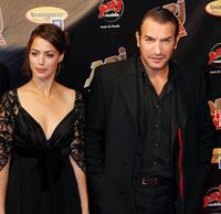 Berenice Bejo and Jean Dujardin at the third edition of NRJ Cine Awards show.