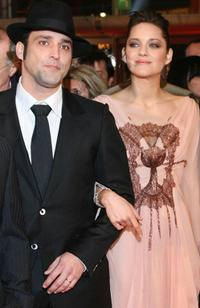 Jean-Pierre Martins and Marion Cotillard at the screening of