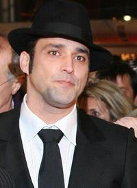 Jean-Pierre Martins at the screening of