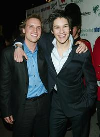 Ben Scholfield and Oliver James at the New York Premiere of