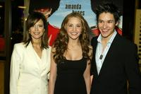 Kelly Preston, Amanda Bynes and Oliver James at the premiere of