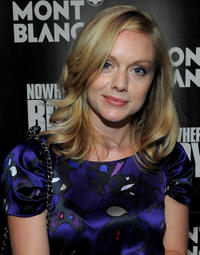 Christina Cole at the Global launch of The Montblanc John Lennon Edition in New York.