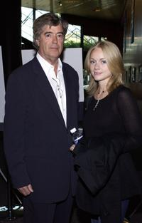 Dean Hargrove and Christina Cole at the screening of