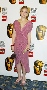 Christina Cole at the British Academy Children's Film and Television Awards.