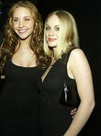 Amanda Bynes and Christina Cole at the after party of the premiere of