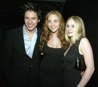 Oliver James, Amanda Bynes and Christina Cole at the after party of the premiere of