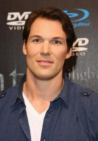 Daniel Cudmore at the Twilight fan party.