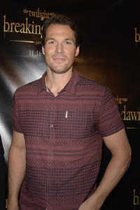 Daniel Cudmore at the Twilight Saga: Breaking Dawn, Part 2 Miami Fan Event in Florida.