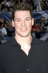 Daniel Cudmore at the premiere of