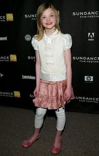 Elle Fanning at the premiere of