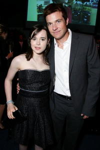 Ellen Page and actor Jason Bateman at the after party of the screening of