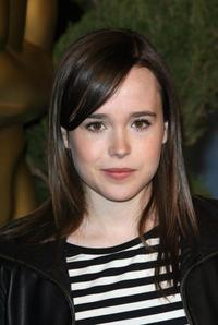 Ellen Page at the annual Academy nominees luncheon.