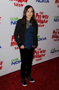 Ellen Page at the opening night of
