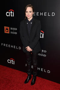 Ellen Page at the New York premiere of