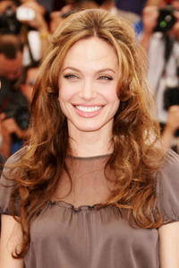 Angelina Jolie at a photocall in Cannes for