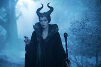 Angelina Jolie as Maleficent in
