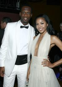 Pras and Amerie Rogers at the 36th AFI Life Achievement Awards.