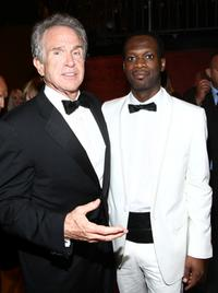 Warren Beatty and Pras at the 36th AFI Life Achievement Awards.