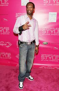 Pras at the book launch party for stylist June Ambrose's