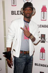 Pras at the Blender Magazine and Glaceau Vitamin Water post VMA party.