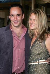 Dave Matthews and his wife Ashley Harpe at the opening night of
