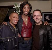 Maurice Green, Lisa Leslie and Dave Matthews at the My VH1 Music Awards.