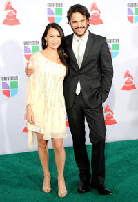 Alexa Vega and Kuno Becker at the 11th annual Latin GRAMMY Awards in Nevada.