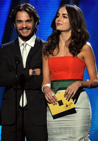Kuno Becker and Camilla Belle at the 11th annual Latin GRAMMY Awards in Nevada.
