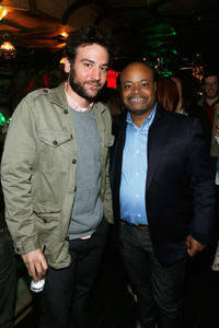 Josh Radnor and Terence Bernie Hines at the after party of