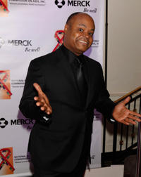 Terence Bernie Hines at the National Black Leadership Commission on AIDS Host 25th Anniversary Choose Life awards.