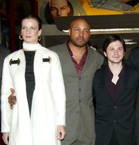 Rachel Griffiths, Mathew St. Patrick and Freddy Rodriguez at the world premiere of