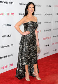 Catherine Zeta-Jones at the New York premiere of