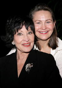 Cherry Jones and Chita Rivera at the New Dramatists 57th Annual Benefit Luncheon to honor Rivera.