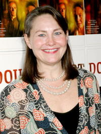 Cherry Jones at the New York opening night of