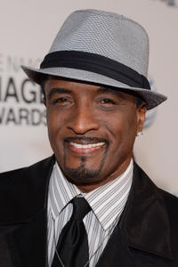 Clyde Jones at the 44th NAACP Image Awards.