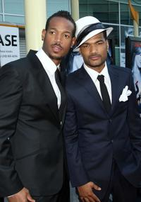 Marlon Wayans and Damien Dante Wayans at the premiere of