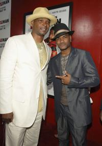 Damon Wayans and Damien Dante Wayans at the premiere of