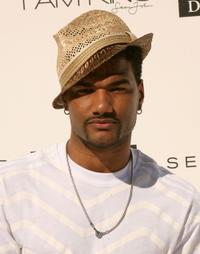Damien Dante Wayans at the White party in Beverly Hills.