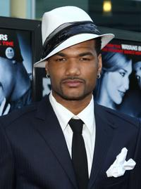 Damien Dante Wayans at the premiere of